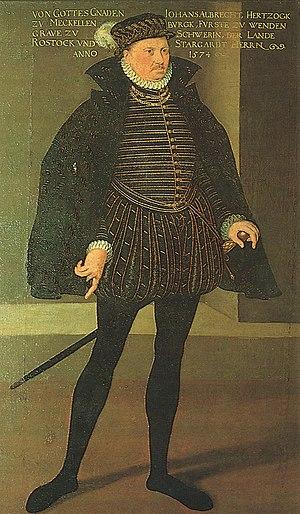 John Albert I, Duke of Mecklenburg - John Albert I, Duke of Mecklenburg