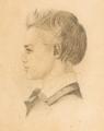 Johanne Vilhelmine Bissen, Portræt af Johannes Hage, 1800-tallet, 0230NMK, Nivaagaards Malerisamling.png