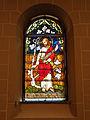 Johanneskirche Freiburg - Glasfenster - Verfluchung des Feigenbaums.jpg