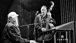 Anders Johansson - Anders and Jens Johansson performing on double bass