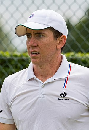 John-Patrick Smith - John-Patrick at the 2015 Wimbledon<br/>qualifying tournament