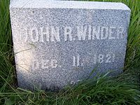 JohnRWinderHeadstone