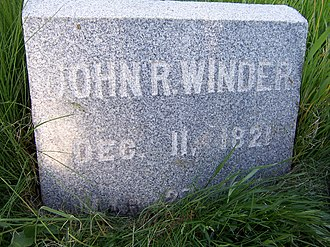 John R. Winder - Image: John R Winder Headstone