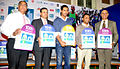 John Abraham, Rahul Bose at the Press conference of Standard Chartered Mumbai Marathon 2013 06.jpg