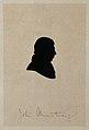 John Armstrong. Silhouette. Wellcome V0000215.jpg