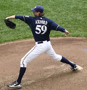 2001 Seattle Mariners season - The Mariners selected John Axford in the seventh round of the 2001 draft.