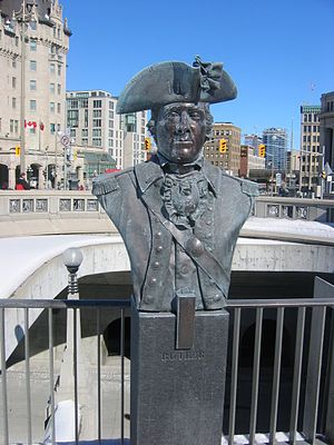 John Butler (pioneer) - Bust of John Butler, at the Valiants Memorial, in Ottawa, capital of Canada