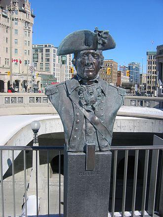 John Butler (pioneer) - Bust of John Butler, at the Valiants Memorial, in Ottawa, capital of Canada