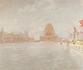 John Henry Twachtman - Court of Honor, World's Columbian Exposition, Chicago (1893).jpg