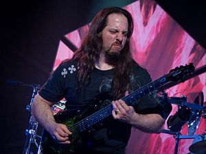 John Petrucci - John Petrucci during a concert in 2012.