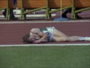 John Treacy - Treacy collapsed on the track during the 1980 Summer Olympics