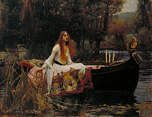 The Lady of Shalott - John William Waterhouse's The Lady of Shalott, 1888 (Tate Britain, London)