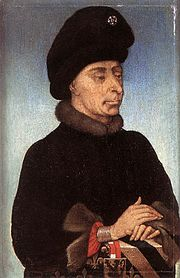 John the Fearless, portrait by an unknown master of the southern Netherlands, c. 1415.