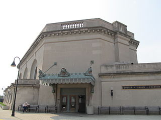Joliet Union Station former train station in the United States