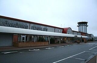 airport outside Jönköping, Sweden