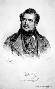 Joseph Christian Freiherr von Zedlitz (Source: Wikimedia)