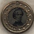 Joseph Lane campaign pendant in 1860, from- Breckinridge-Lane Campaign Items, ca. 1860 (4359372913) (cropped).jpg