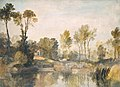 Joseph Mallord William Turner (1775-1851) - House beside the River, with Trees and Sheep - N02694 - National Gallery.jpg