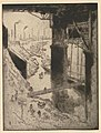Joseph Pennell - Landungssteg bei Duisburg, 1912.jpg