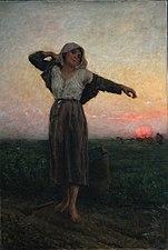 Jules Breton - La glaneuse lasse.jpg