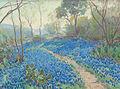 Julian Onderdonk - A Hillside of Blue Bonnets- Early Morning, Near San Antonio Texas (1916).jpg