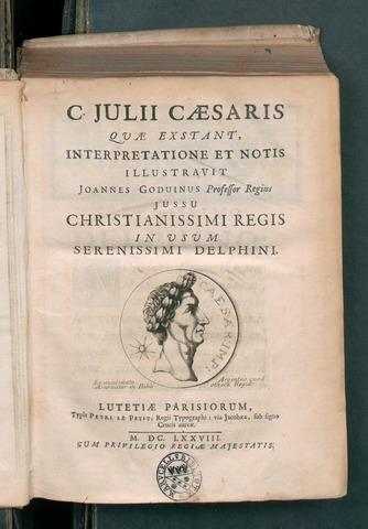 C. Iulii Caesaris quae extant, 1678