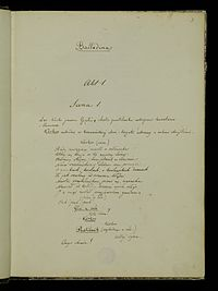 Juliusz Słowacki Balladyna rękopis.jpg