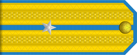 Junior Lieutenant rank insignia (North Korean police).png
