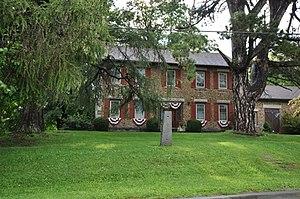Cobblestone Farmhouse at 1111 Stone Church Road - Image: Junius NY 1111Stone Church Road