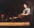 Kücheninterieur mit Magd (spanisch 17 Jh).jpg
