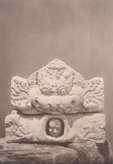 KITLV 87706 - Isidore van Kinsbergen - Hindu-Javanese sculpture coming from the Dijeng plateau - Before 1900.tif
