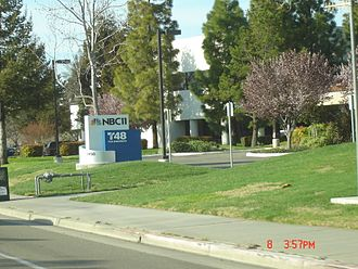 KNTV - KNTV and KSTS studios located at 2450 North First Street in San Jose