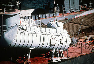 Osa-class missile boat - P-15M launcher on an Osa II class fast attack craft.