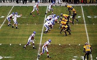 Border War (Kansas–Missouri rivalry) - Kansas Jayhawks vs. Missouri Tigers at Arrowhead Stadium on November 29, 2008.