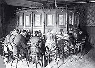 Kaiserpanorama - A kaiserpanorama in Prater (1900)
