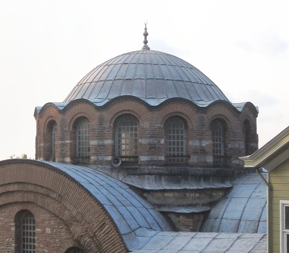 Kalenderhane Camii SE Istanbul cropped on dome