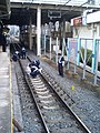Kamifukuoka Station suicide 20060223.JPG