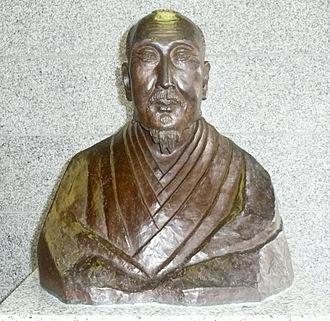 Kamo no Mabuchi - Bust of Mabuchi in Hamamatsu