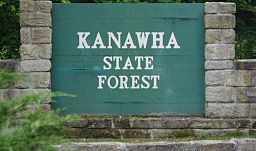Kanawha State Forest - Entrance Sign.jpg