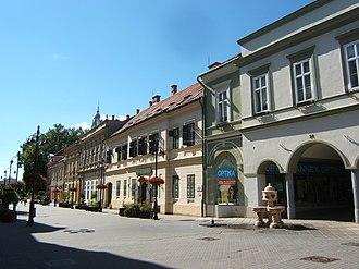 Somogy County - Image: Kaposvár, Fő utca 002