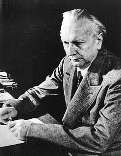 Karl Jaspers psychiatrist and philosopher from Germany (1883-1969)