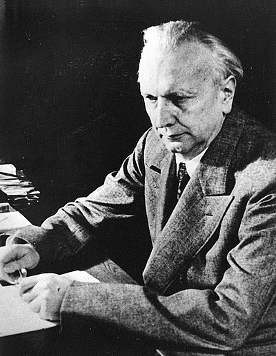 Picture of an author: Karl Jaspers