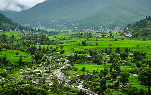 Mandi district - The Karsog valley in Mandi district