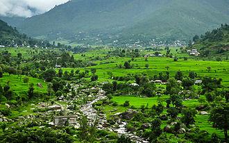 Mandi district - The Karsog valley in Mandi district