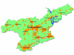 Gummersbach - Map of Gummersbach