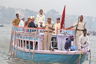 Nag Nathaiya - Kashi Naresh Anant Narayan Singh on the ocassaion of Nag Nathaiya festival in Varanasi