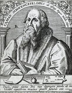 Caspar Schwenckfeld German theologian