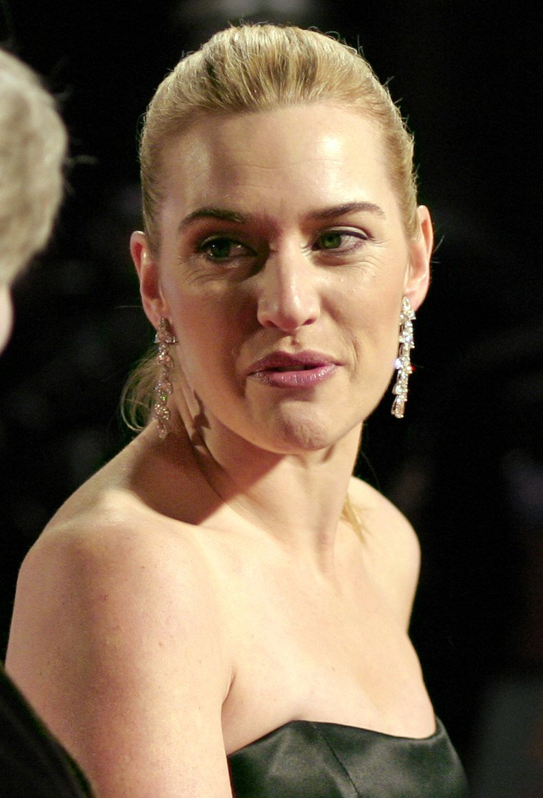 Kate Winslet at the BAFTAs 2007 (cropped)