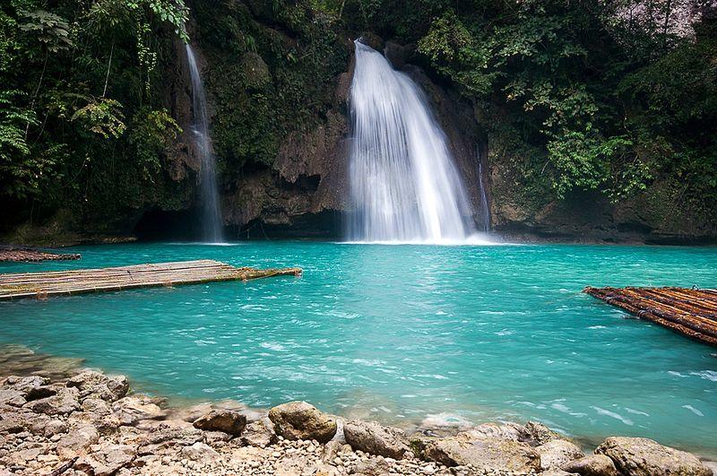 File:Kawasan Falls, Cebu, Philippines1.jpg