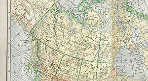 District of Mackenzie - Map (ca. 1905)